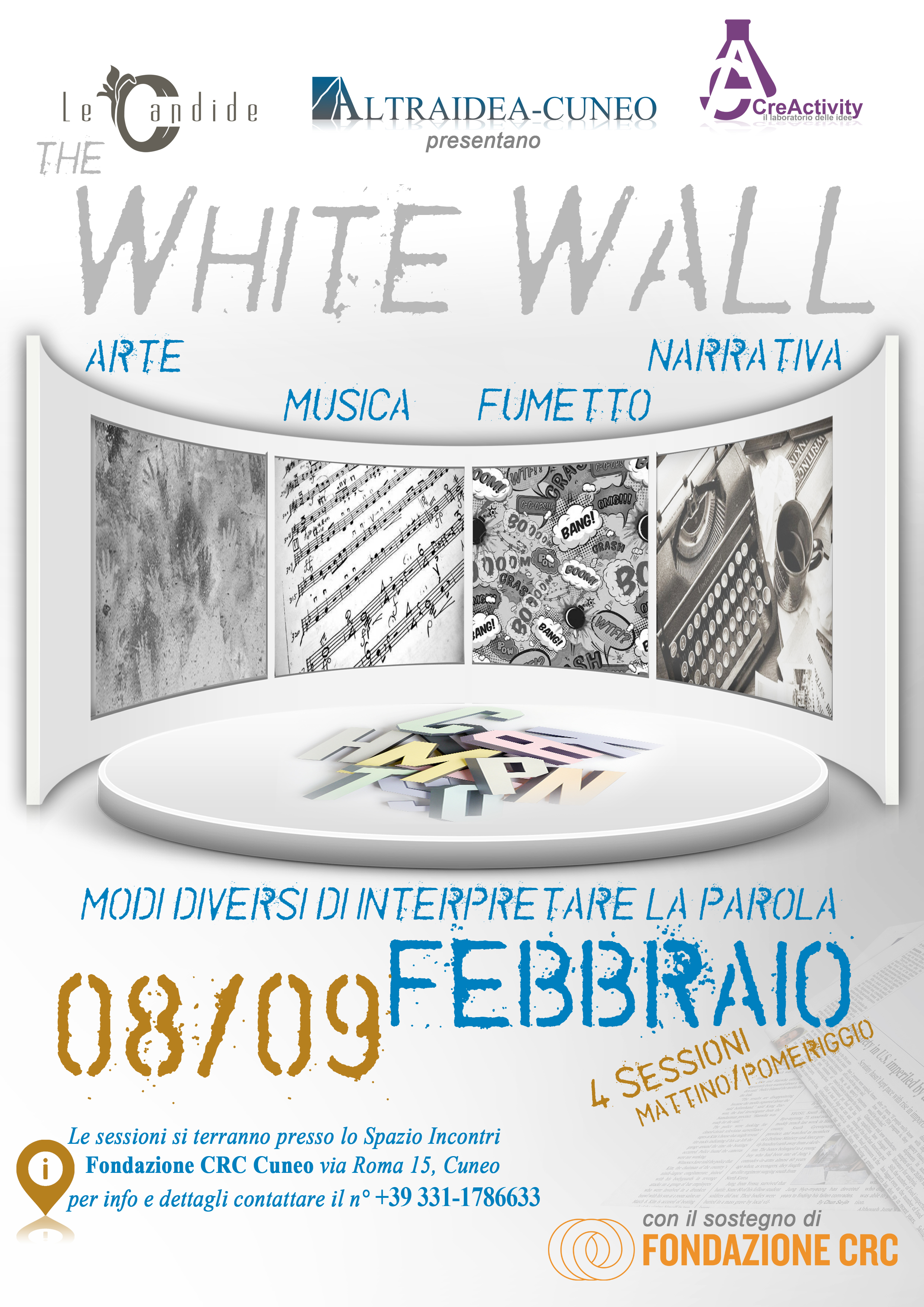 The Withe Wall 8 - 9 febbraio